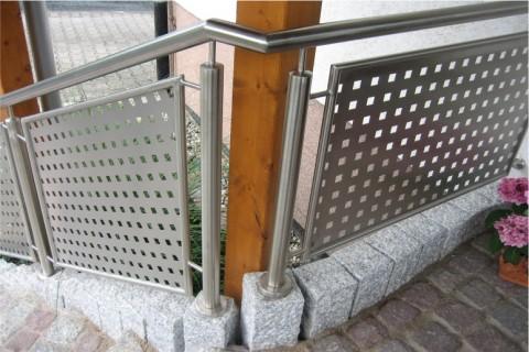 Balkongeländer Geländer für Treppen und Balkone Metalltechnik Metall am Bau Thüringen Kassel Bad Sooden-Allendorf